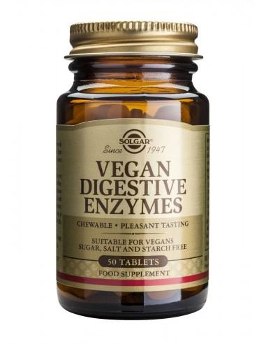SOLGAR Vegan Digestive Enzymes Tabs 50s