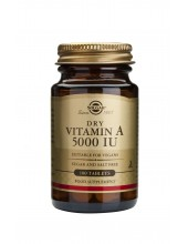 SOLGAR Vitamin A 5000 iu Dry Tabs 100s