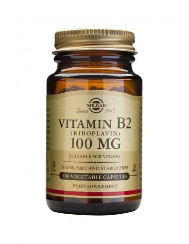 SOLGAR Vitamin B-2 100mg Veg.Caps 100s