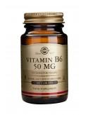 SOLGAR Vitamin B-6 50mg 100 Τabs
