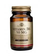 SOLGAR Vitamin B-6 50mg 100...