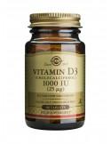 SOLGAR Vitamin D-3 1000 iu Tabs 90s