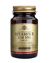 SOLGAR Vitamin E 200 iu Softgels 50s