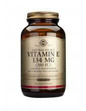 SOLGAR Vitamin E 200 iu Softgels 250s