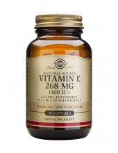SOLGAR Vitamin E 268mg 400 iu Softgels 50s