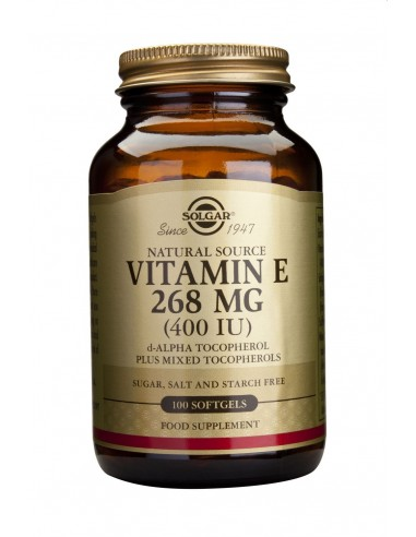 SOLGAR Vitamin E 400 iu Softgels 100s
