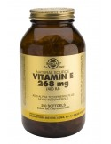 SOLGAR Vitamin E 400 iu Softgels 250s