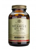 SOLGAR Vitamin E 1000 iu Softgels 100s