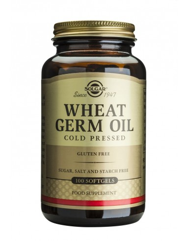 SOLGAR Wheat Germ Oil Softgels 100s