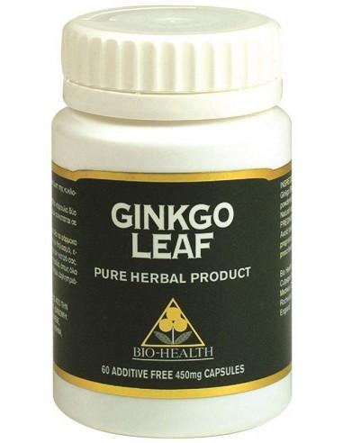 BIO HEALTH Ginkgo Leaf, tabs 60s