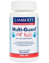 LAMBERTS Multi-Guard for KIDS 100 Tabs