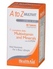 HEALTH AID Α to Ζ MULTIVIT 90 tabs