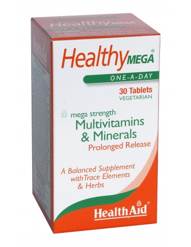 HEALTH AID Healthy MEGA-multivit 30 tabs