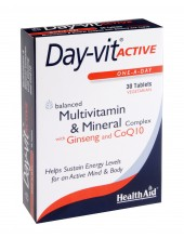 HEALTH AID ACTIVE PLUS Co-Q-10 & GINSENG -blister 30 tabs