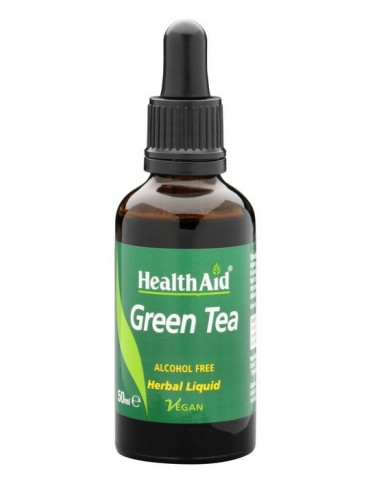 HEALTH AID GREEN TEA LIQUID 1000mg 50 ml