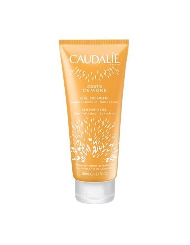 CAUDALIE Zeste de Vigne Shower Gel tube 200 ml