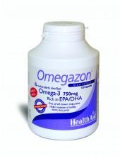 HEALTH AID OMEGAZON OMEGA-3 750mg Rich in EPA/DHA 120 caps