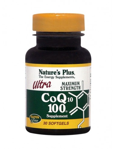 NATURE'S PLUS ULTRA CoQ10 100 30Softgels