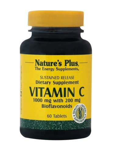 NATURE'S PLUS VITAMIN C 1000mg 60 Tabs