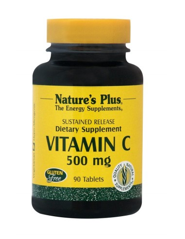 NATURE'S PLUS VITAMIN C 500mg 90 Tabs