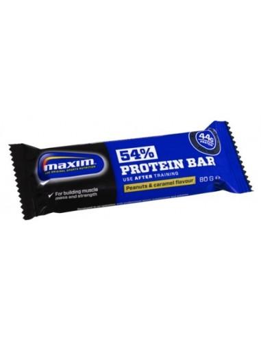 MAXIM 54% PROTEIN BAR PEANUT/CHOCO 80gr