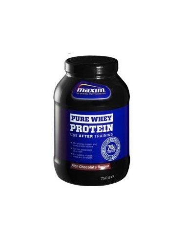 MAXIM PURE WHEY PROTEIN CHOCOLATE 750g