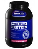 MAXIM PURE WHEY PROTEIN STRAWBERRY 750gr