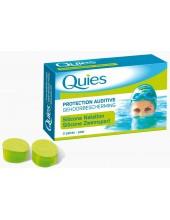 QUIES EARPLUGS SILICONE NATATION 3 paires
