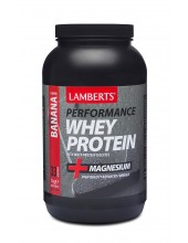 LAMBERTS PERFORMANCE WHEY PROTEIN BANANA FLAVOUR 1000gr