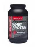 LAMBERTS PERFORMANCE WHEY PROTEIN STRAWBERRY FLAVOUR 1000gr