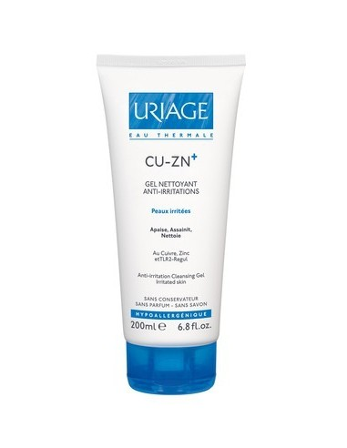 URIAGE CU-ZN+ Gel Nettoyant 200ml