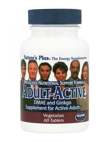 NATURE'S PLUS Adult-Active 60 veg. tabs