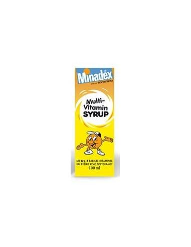 SEVEN SEAS Minadex Multi-Vitamin Syrup 100ml
