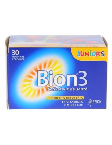 MERCK Bion 3 Junior 30 Chewable Tabs