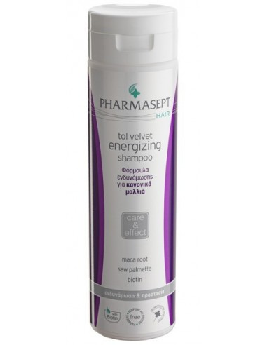 PHARMASEPT Tol Velvet Energizing Shampoo Normal Hair 250ml