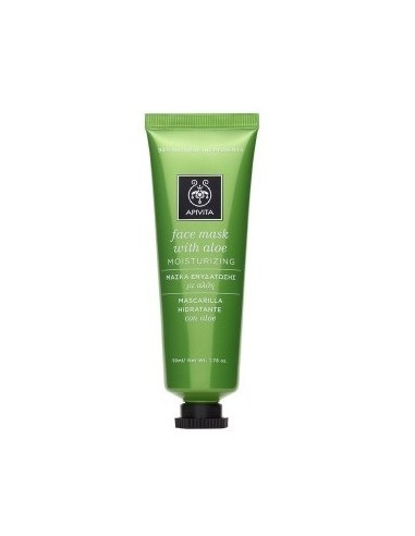 APIVITA Face Mask With Aloe 50 ml