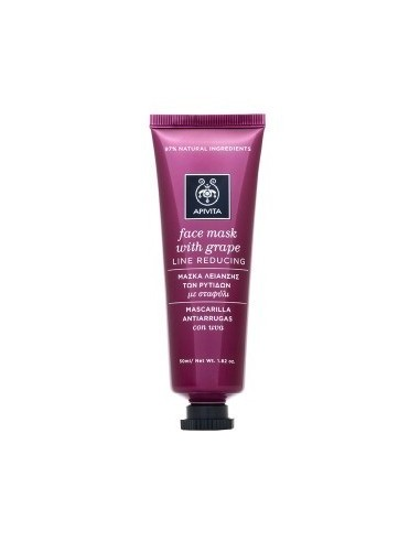 APIVITA Face Mask With Grape 50 ml