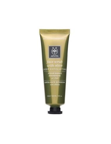 APIVITA Face Scrub With Olive 50 ml