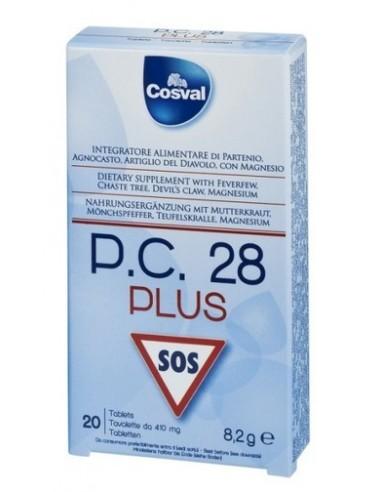 COSVAL P.C. 28 PLUS SOS 20 TABS