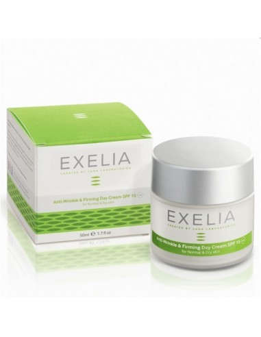 EXELIA Anti-Wrinkle & Firming Day Cream SPF 15(for normal & dry skin)50ml