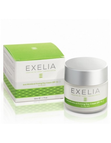 EXELIA Anti-Wrinkle & Firming Day Cream SPF 15(for oily skin)50ml
