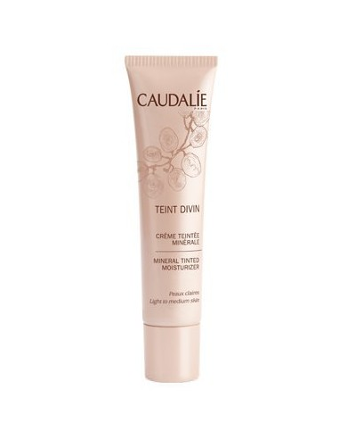 CAUDALIE Teint Divin Tinted Moisturizer Fair to Medium Skin 30ml
