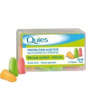 QUIES EARPLUGS MOUSSE CONFORT 3 paires
