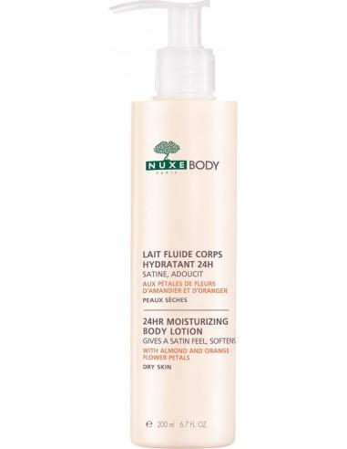 NUXE Lait fluide corps hydratant 24h (24hr moisturizing body lotion)