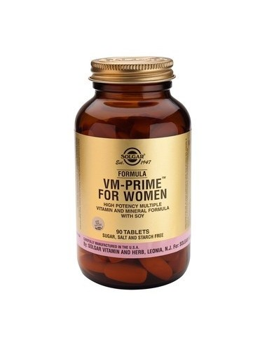 SOLGAR FORMULA VM PRIME FOR WOMEN tabs 90s