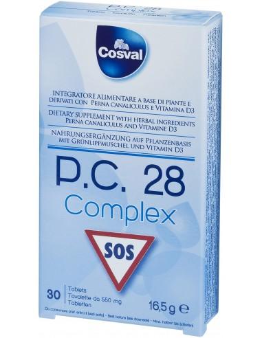 COSVAL P.C. 28 COMPLEX SOS 30 TABS