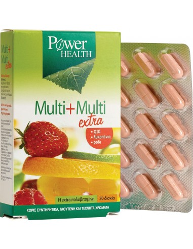 Power Health Multi + Multi extra tabs, 30s