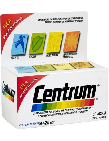 CENTRUM Complete from A to Zinc 30tabs