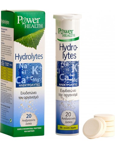 Power Health Hydrolytes, αναβράζοντα 20's