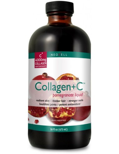 NEOCELL Collagen +C Pomegranate Liquid 473ml